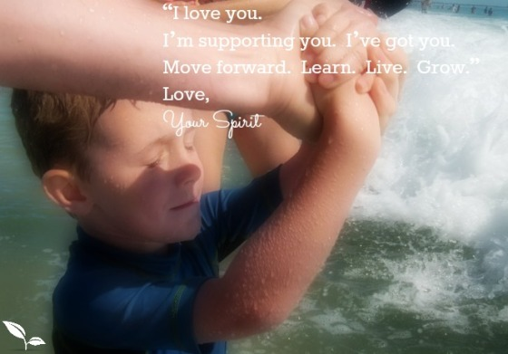 I love you Love, Your Spirit with Noah